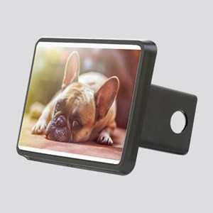 french bulldog laying Hitch Cover