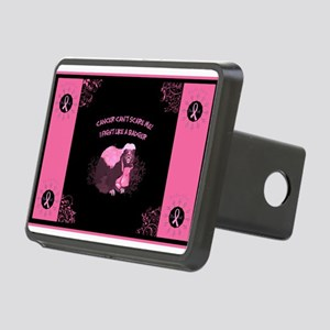 Cancer Yard Sign Rectangular Hitch Cover
