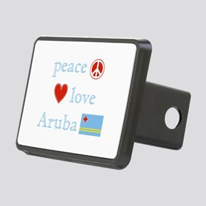 PeaceLoveAruba Rectangular Hitch Cover
