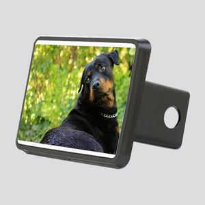 rottweiler cute Hitch Cover