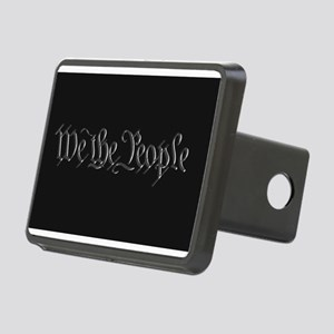 U.S. Outline - We the Peop Rectangular Hitch Cover