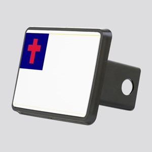 Christian_flag Rectangular Hitch Cover