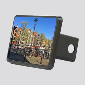 Amsterdam row houses Rectangular Hitch Cover