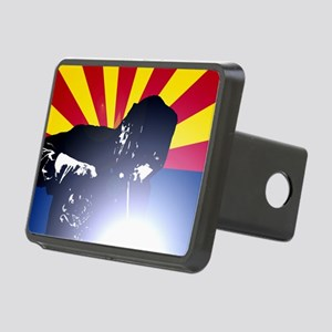 Welding: Arizona State Fla Rectangular Hitch Cover