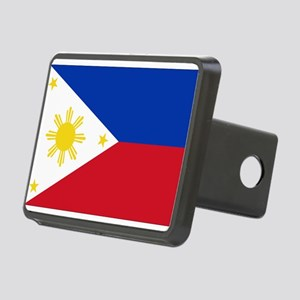 Philippine flag Rectangular Hitch Cover