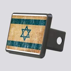 Israel Flag Rectangular Hitch Cover