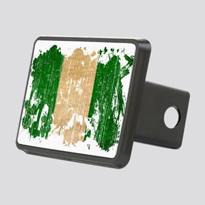 Nigeria Flag Rectangular Hitch Cover