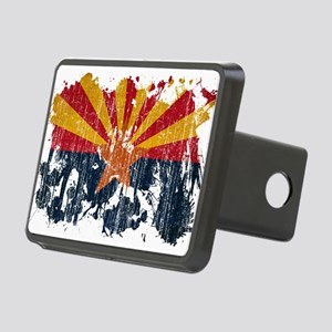 Arizona Flag Rectangular Hitch Cover