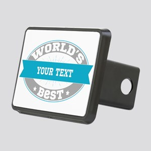 Worlds Best Personalized Rectangular Hitch Cover