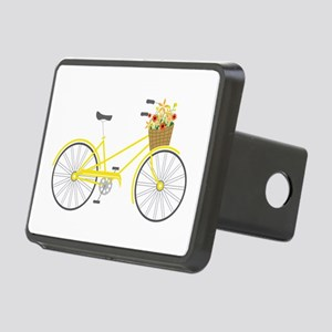 Bicycle Flowers Hitch Cover