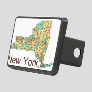 Map of New York State 2 Hitch Cover