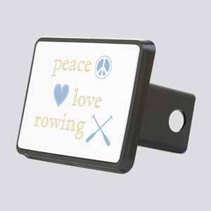 PeaceLoveRowing Rectangular Hitch Cover