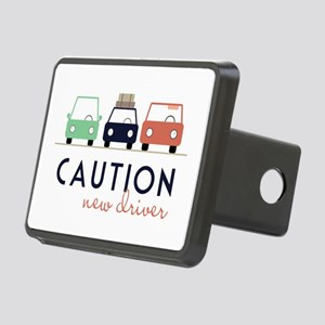 Caution New Driver Hitch Cover