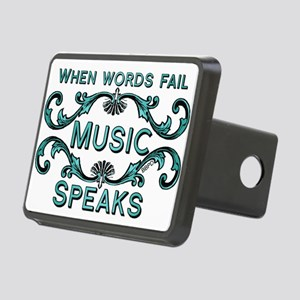 Music Speaks Hitch Cover