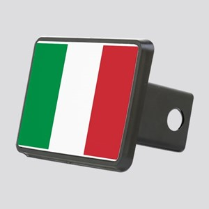 Italian Flag Rectangular Hitch Cover