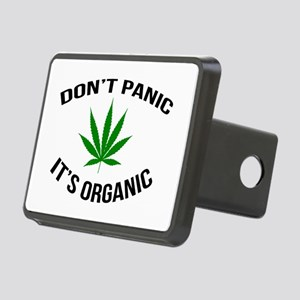 Don't Panic It's Organic Rectangular Hitch Cover