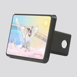 Dog Angel / Pit Bull Rectangular Hitch Cover
