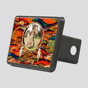 Appaloosa Horse Shield Rectangular Hitch Cover