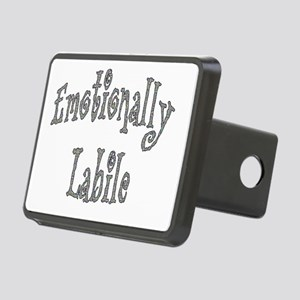 Emotionally Labile Rectangular Hitch Cover