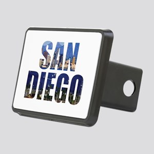 San Diego Rectangular Hitch Cover