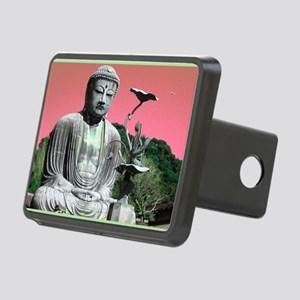 Kamakura Buddha Rectangular Hitch Cover
