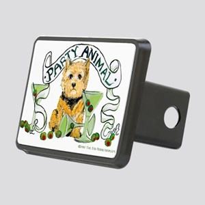 3-Party Animal banner  Rectangular Hitch Cover