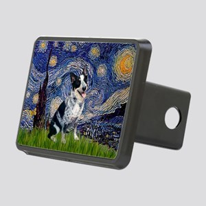 Starry-AussieCattlePup2 Rectangular Hitch Cover