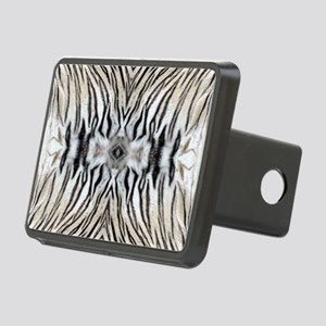 White Tiger Hitch Cover