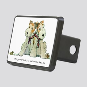 Love your friends 11x8 Rectangular Hitch Cover