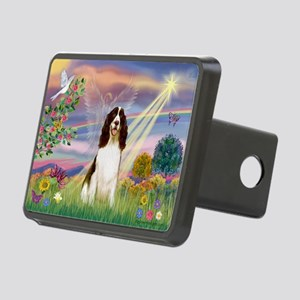 Cloud Angel & Springer Rectangular Hitch Cover