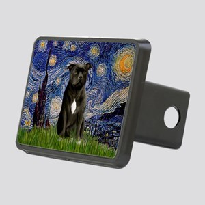 Starry-Am.Staffordshire (blk) Rectangular Hitch Co