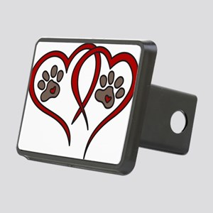 Puppy Love Rectangular Hitch Cover