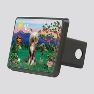 Pagoda/Chinese Crested Rectangular Hitch Cover