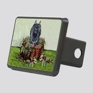 Basket copy Christmas Rectangular Hitch Cover