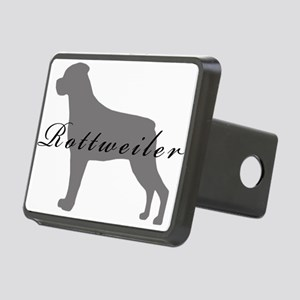 23-greysilhouette2 Rectangular Hitch Cover