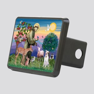 St Francis / Pit Bull Rectangular Hitch Cover