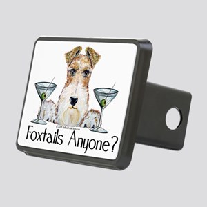 foxtails3 Rectangular Hitch Cover