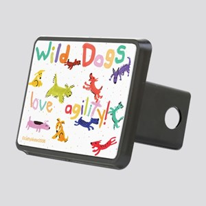WildDogs Rectangular Hitch Cover