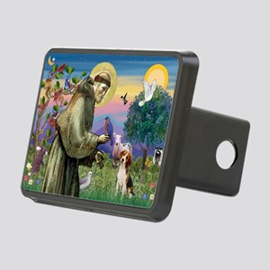St Francis / Beagle Rectangular Hitch Cover