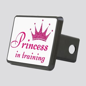 PRINCESS IN TRAINING Rectangular Hitch Cover