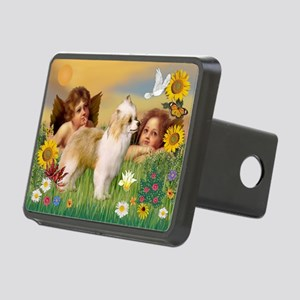 Angels/Puff Crested Rectangular Hitch Cover