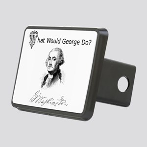 GeorgeWashington Rectangular Hitch Cover