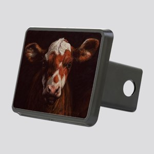 Hereford Calf Rectangular Hitch Cover