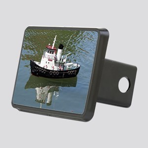 Model tugboat Rectangular Hitch Cover