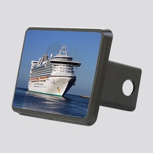 Golden Princess cruise shi Rectangular Hitch Cover