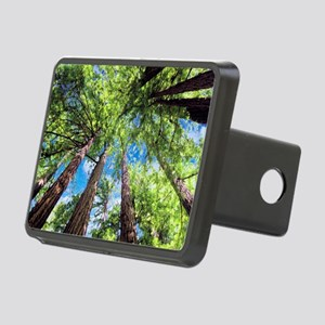Muir Woods and the Very Bl Rectangular Hitch Cover