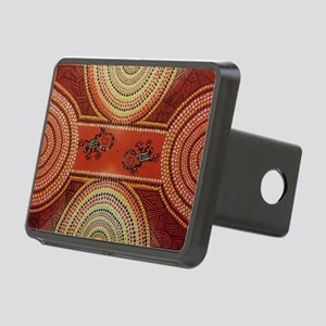 Wandering Geckos Rectangular Hitch Cover
