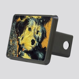 Penny the Yorkie Rectangular Hitch Cover