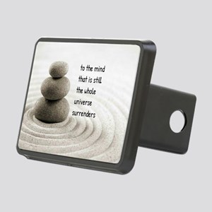 The Mind That Is Still Rectangular Hitch Cover
