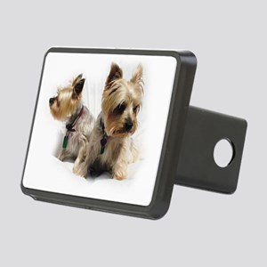 Silky Terriers Rectangular Hitch Cover